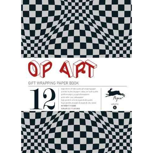 Op Art: Gift Wrapping Paper Book Vol. 4