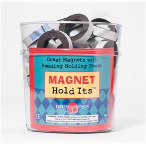 Dowling Magnets DO-614D Bucket Of 48 Rolls 0. 5 X 30 Strip- with  Adh