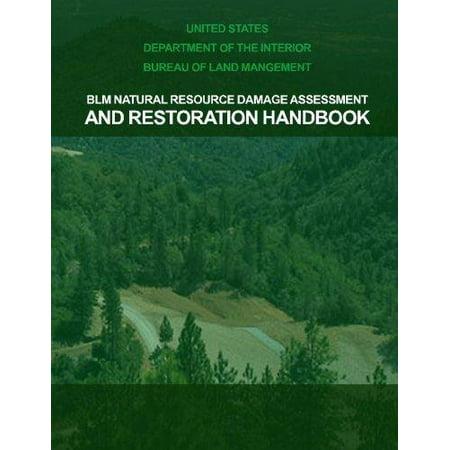 Blm Natural Resource Damage Assessment   Restoration Handbook