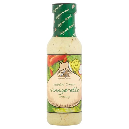 (3 Pack) Virginia Brand Vidalia Onion Vinegarette Dressing, 12 Fl Oz (Vidalia Onion Dip)
