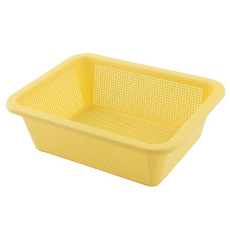 Sta Rite Strainer - Kitchenware Plastic Vegetables Rice Washing Filter Strainer Colander Yellow
