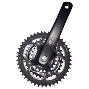 Eclypse, MT9, Crankset, 9 sp., 175mm, 22/32/44T, BCD:104/64mm, Square, Black