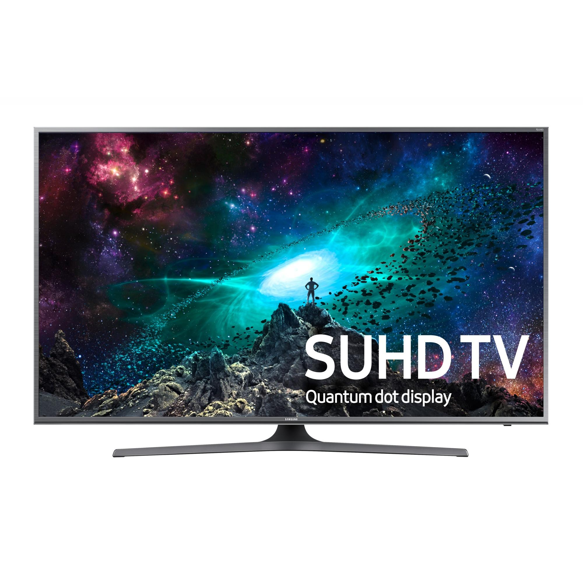 "SAMSUNG 50"" 7000 Series - 4K SUHD Smart LED TV - 2160p, 120MR (Model#: UN50JS7000)"