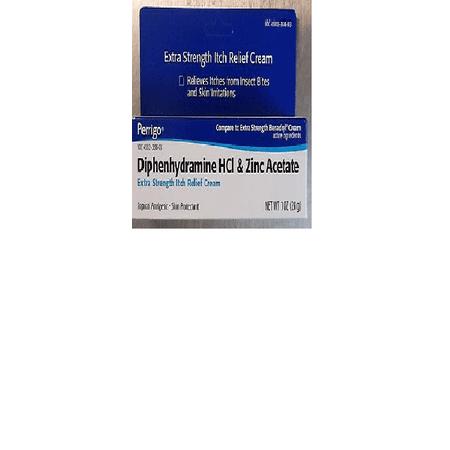 Perrigo Maximum Strength Anti-Itch 2% Medication Cream with Zinc - 1 Oz