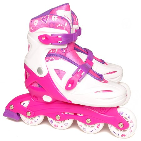vilano adjustable inline skates for girls - Lights For Roller Skates