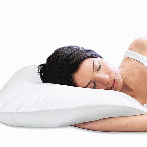 Sleep Innovations 2-in-1 Reversible Memory Foam Pillow
