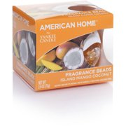 American Home by Yankee Candle Fragrance Beads, Island Mango Coconut
