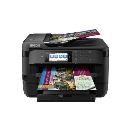 Copy Fax Usb (Epson WorkForce WF-7720 Wireless Wide-format Color Inkjet Printer with Copy, Scan, Fax, Wi-Fi Direct and)