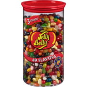 ***Discontinue***Jelly Belly 49 Flavors Jelly Beans, 3 lbs, (Pack of 6)