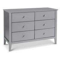 Carter's by DaVinci Morgan 6-Drawer Dresser in Grey