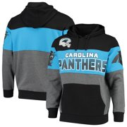 Carolina Panthers G-III Sports by Carl Banks Extreme Special Team Pullover Hoodie - Black/Charcoal