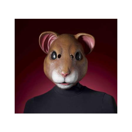 Party Face Masks (MASK-HAMSTER LATEX)