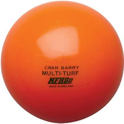 CranBarry Hollow Multi-Turf NFHS Field Hockey Ball, Orange