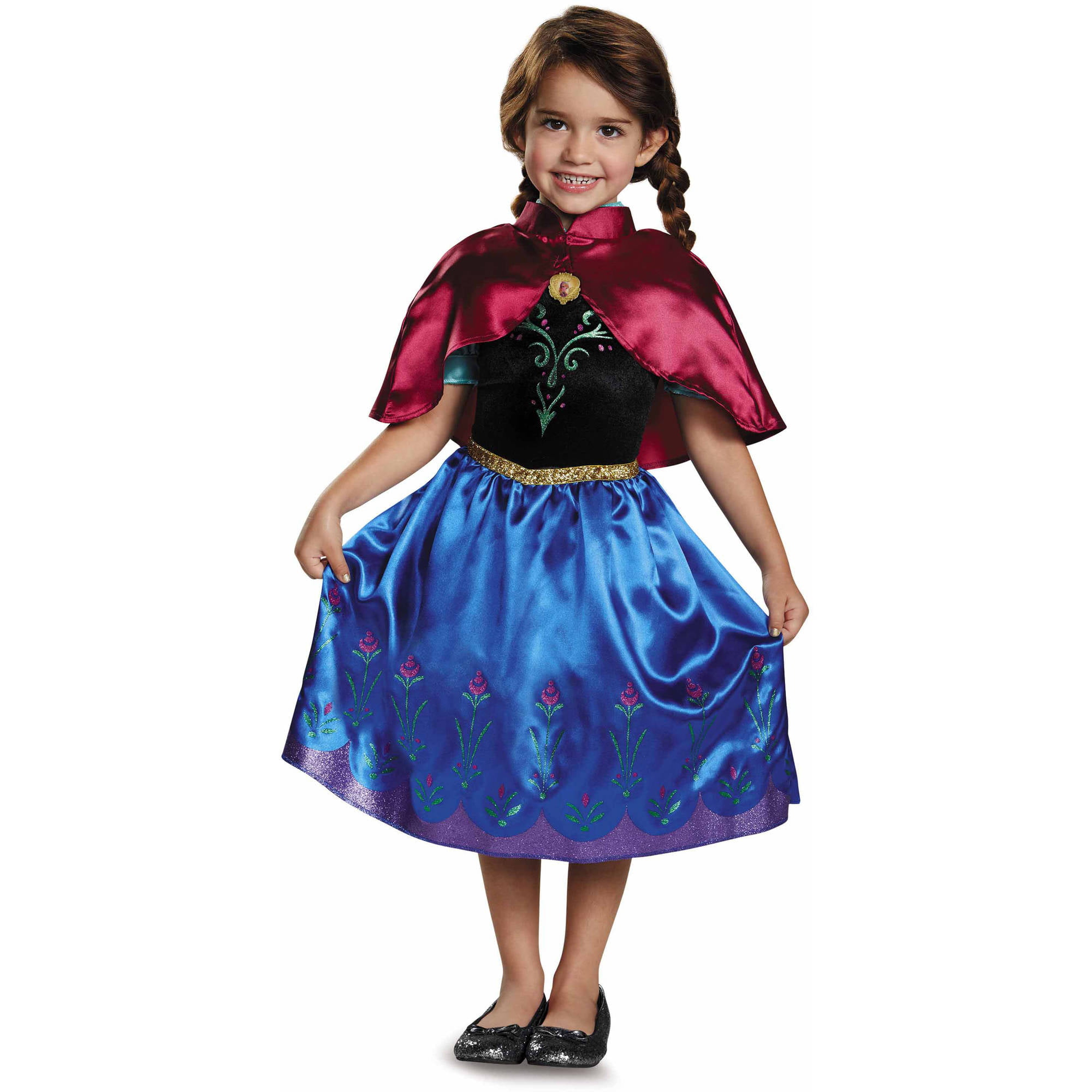disney frozen traveling anna classic toddler costume walmartcom