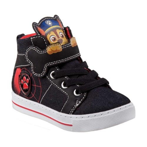Boys' Josmo O-CH17805 Paw Patrol High Top Canvas Sneaker by Nickelodeon