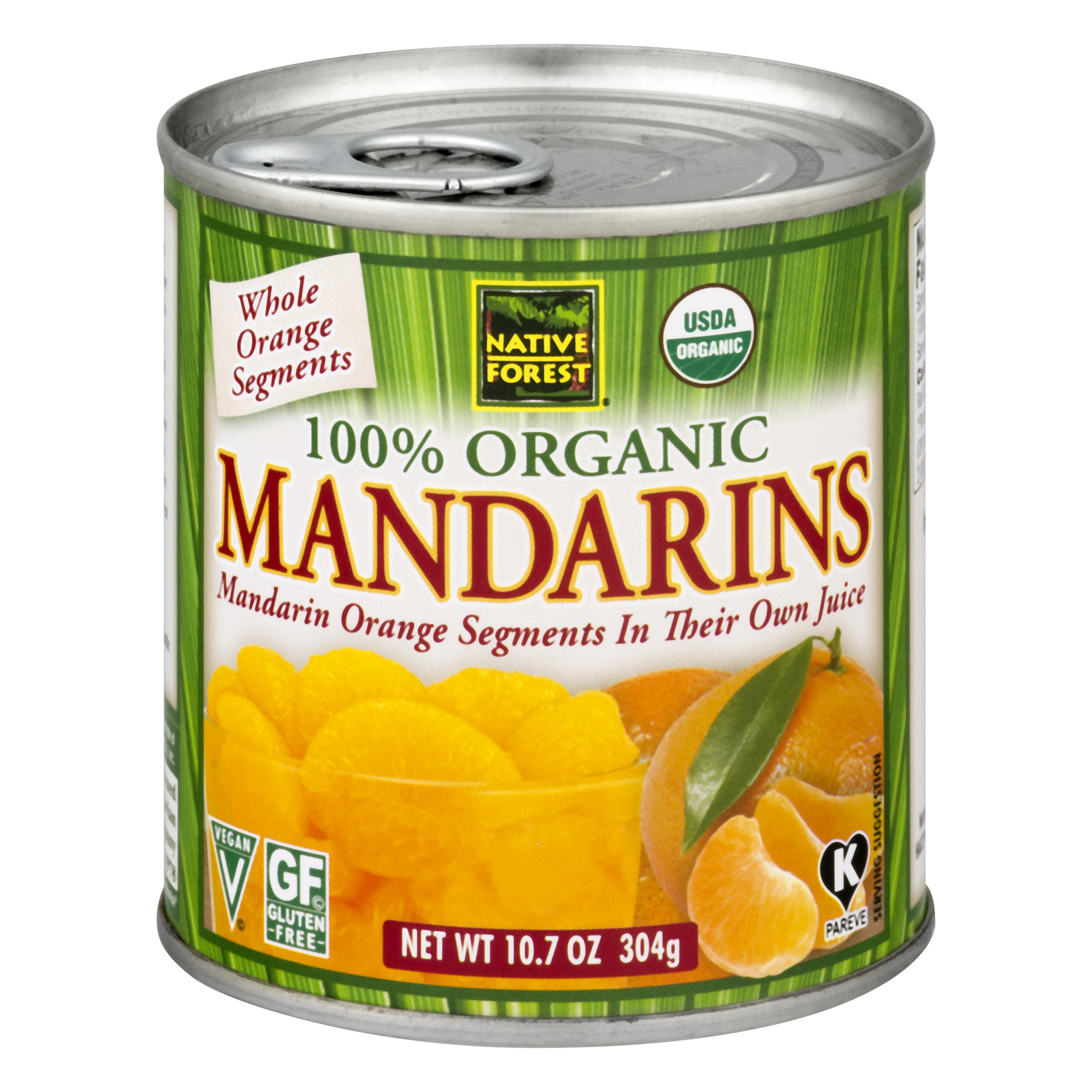 Native Forest 100% Organic Mandarins, 10.7 OZ