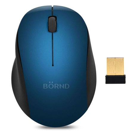 Bornd Silent Mouse M120, 90% Noise Reduction (Batteries Included) -