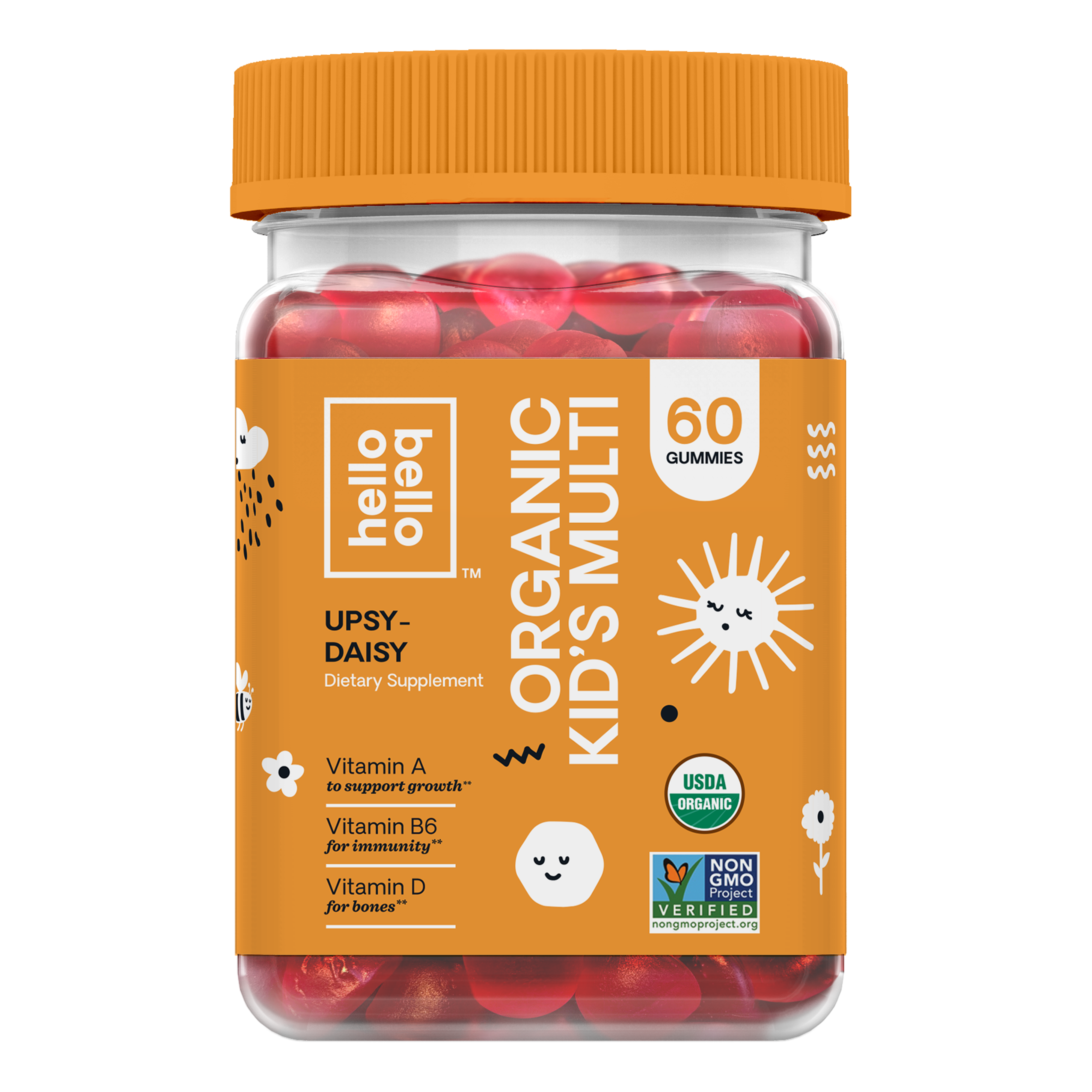 Hello Bello Organic Kids Multi-Vitamin Gummy
