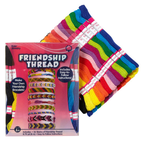 Kids Craft Basic Colors Friendship Thread