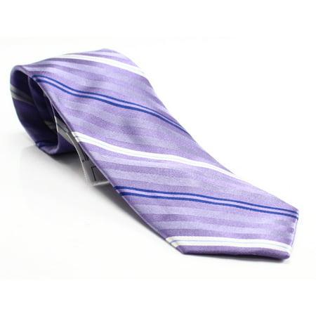 Striped Herringbone Mens Silk Classic Necktie Not Applicable