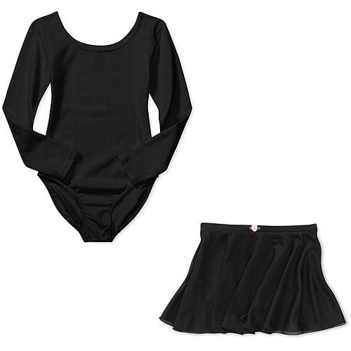 Danskin Girls Leotard and Skirt