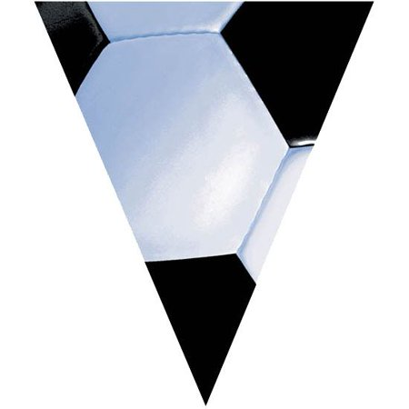Soccer 12' Pennant Banner Decoration (Each) - Party - Soccer Banners