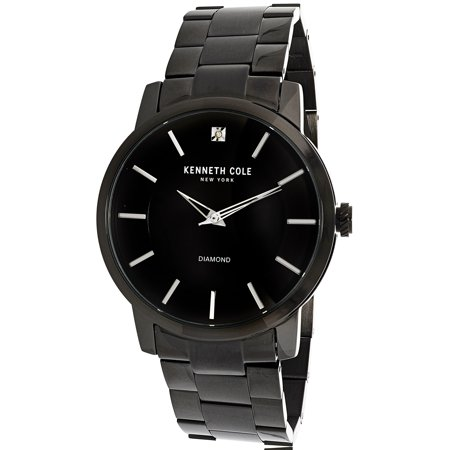 Kenneth Cole Kenneth Cole Mens Kc15114003 Black Stainless Steel