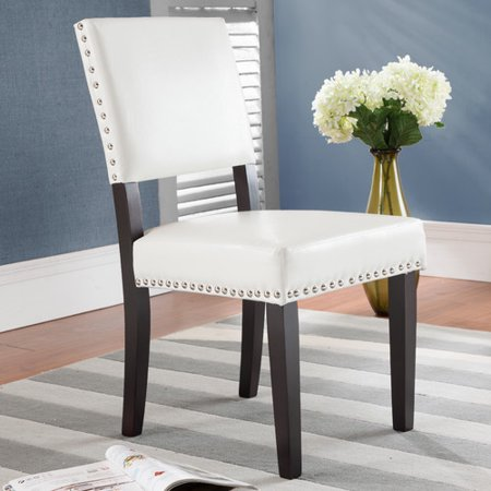 Alcott Hill Arnold Upholstered Dining Chair Set Of 2 Walmart Com