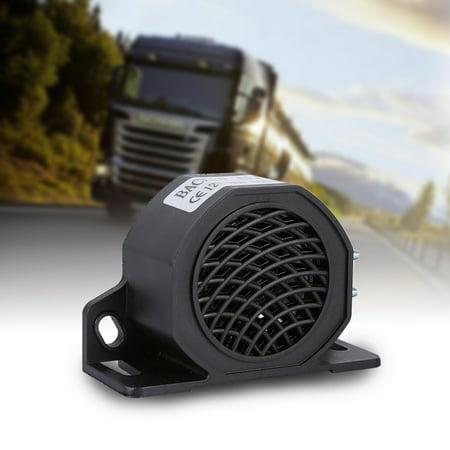 12-80V 105 DB Universal Backup Beeper Warning Alarm Car Truck Vehicle Horn Heavy Equipment, 105DB Siren Horn, Buzzer Warning Alert