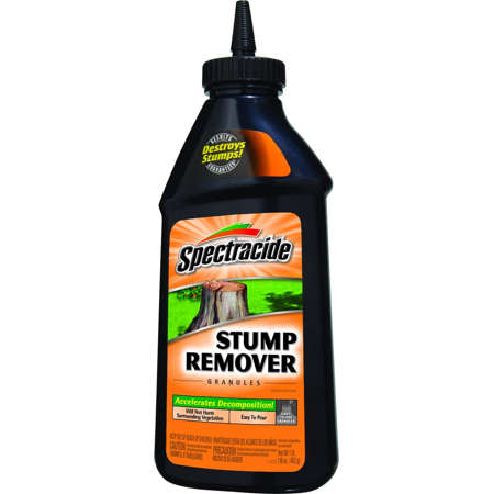 Release Granules - Spectracide Stump Remover Granules, Destroys Stumps, 1 pound