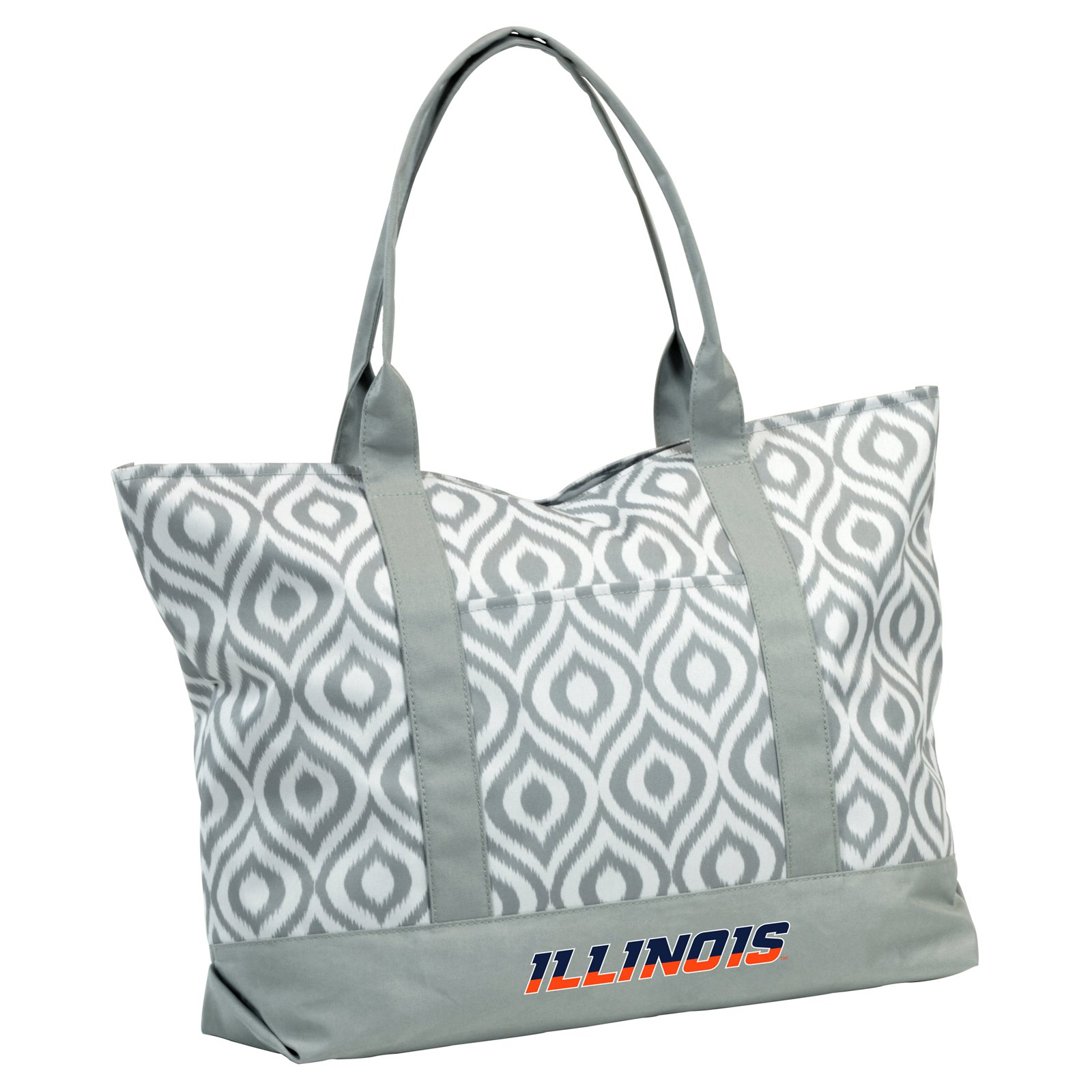 Logo Brands NCAA Ikat Tote Bag