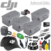 DJI Intelligent Flight Battery for Mavic 2 Pro/Zoom x2 - Fly More Accessory Kit - 64GB Micro SD - Racing Goggles and More