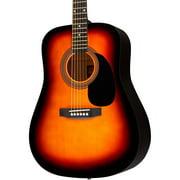 Rogue RA-090 Dreadnought Acoustic Guitar Sunburst