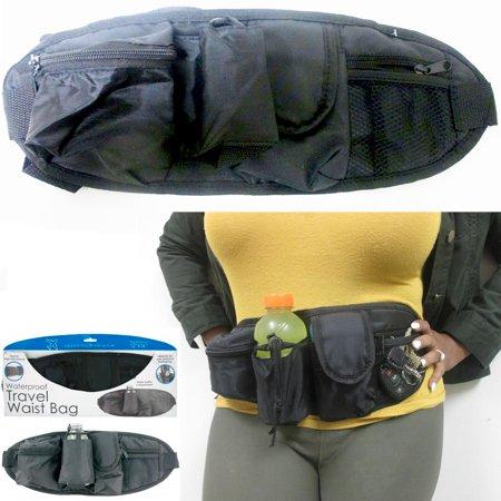 b99b8a1907 AllTopBargains - Waterproof Travel Waist Bag Fanny Pack Case Pouch Running  Sport Belt Hiking New - Walmart.com