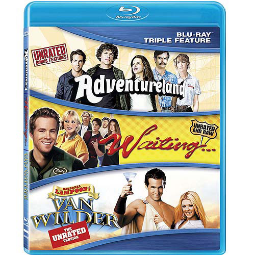 Classic Comedy Triple Feature: Adventureland (Unrated) / Waiting (Unrated) / Van Wilder (Unrated) (Widescreen)
