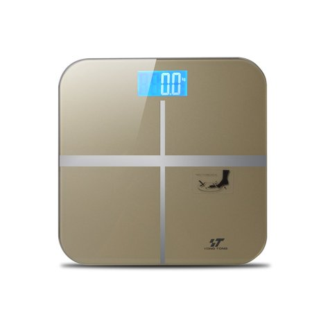 Digital Body Weight Bathroom Scale with Step-On Technology and Backlight Display, 400 Pounds