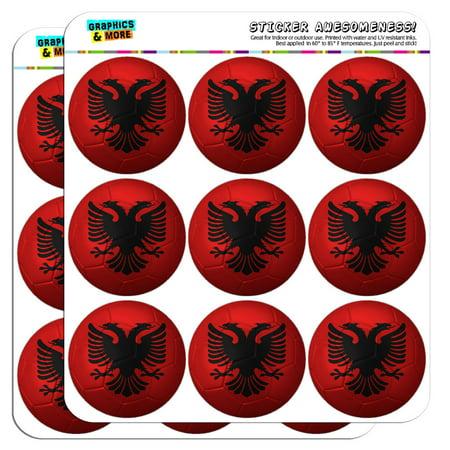 Albanian Flag Soccer Ball Futbol Football 2