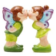 Fairies Fairy Magnetic Salt & Pepper Shakers