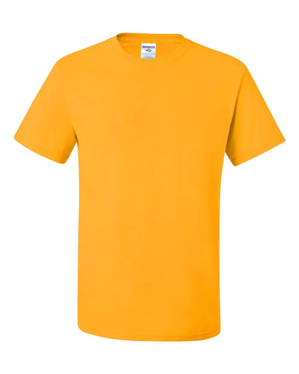 Jerzees Mens DRI-POWER Active Short Sleeve Crew T-Shirt, L, Irish Green Heather