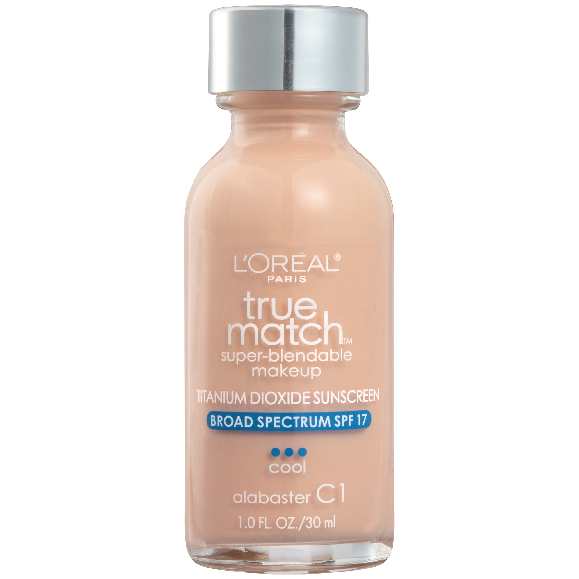 L Oreal Paris True Match Super Blendable Foundation Makeup Spf 17 Buff Beige 1 Fl Oz Walmart Com Walmart Com