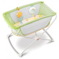Fisher-Price Portable Bassinet, Green
