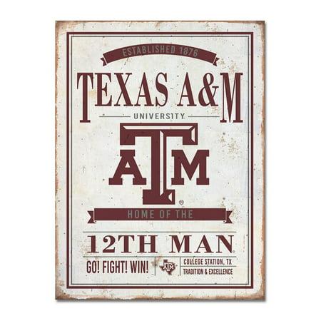 Texas A&M University Vintage Tin - Texas A&m Graduation