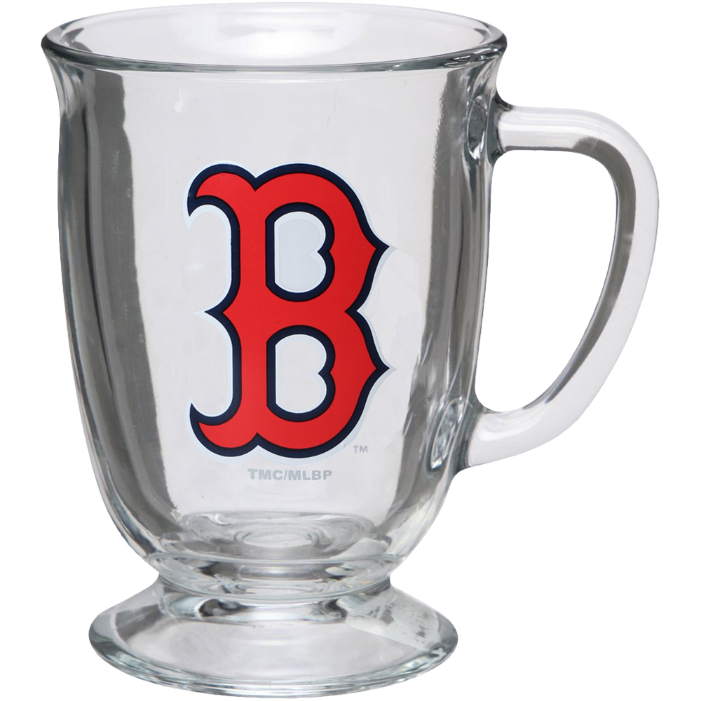 Boston Red Sox 16oz. Kona Glass Mug - No Size