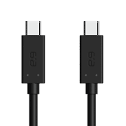 PUREGEAR USB-C TO USB-C CABLE 4FT - BLACK