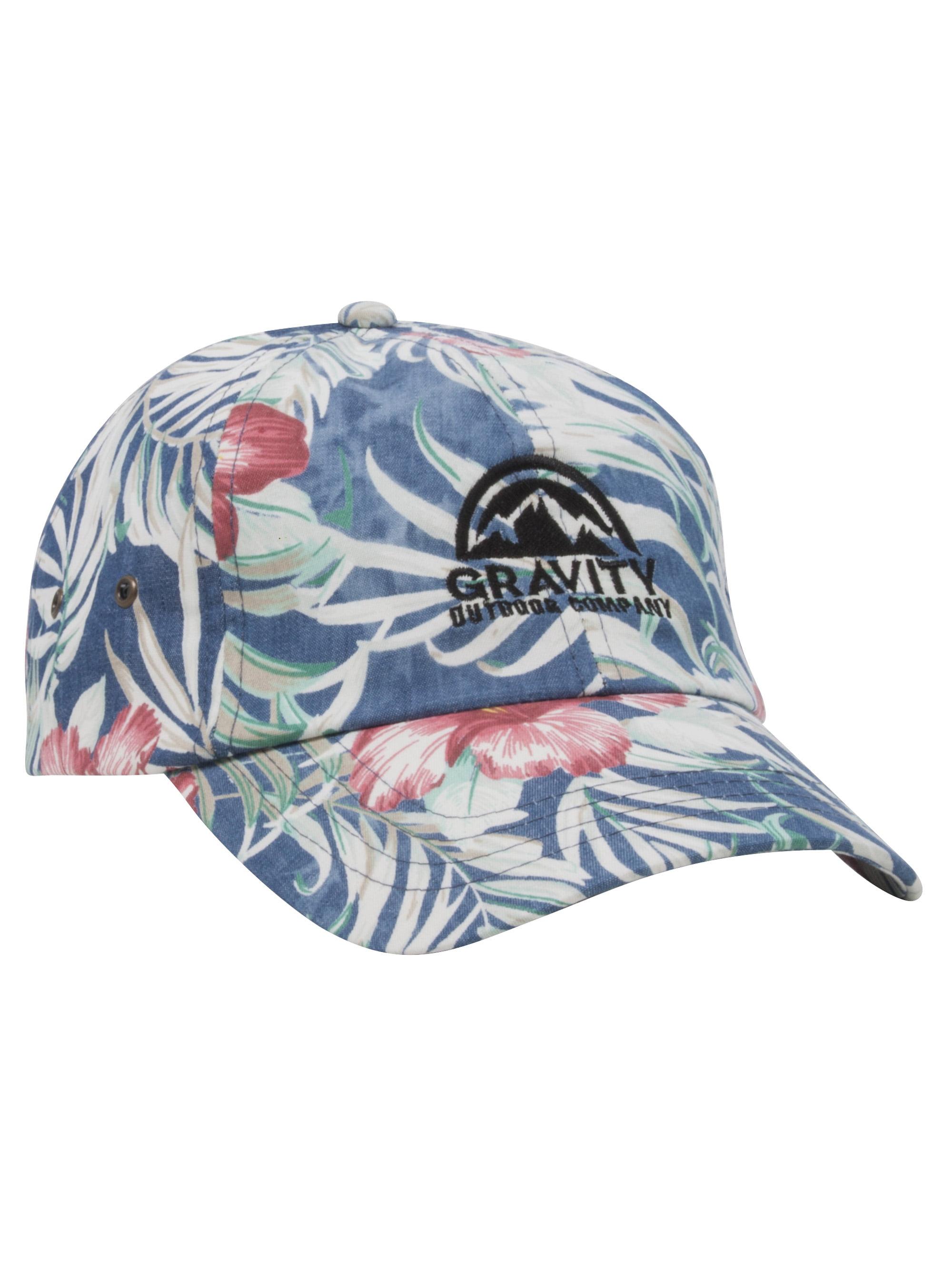 db8bd8697ee Gravity Outdoor Co. Floral Print Adjustable Baseball Cap