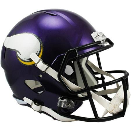 Viking Helmet Football (Riddell Minnesota Vikings Revolution Speed Full-Size Replica Football)
