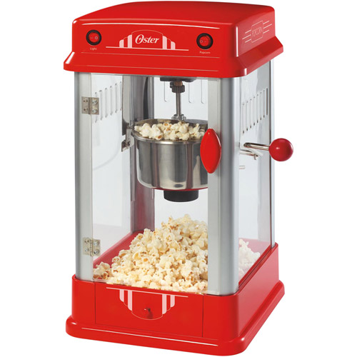 Oster Old Fashion Red Theater Style Popcorn Maker FPSTPP7310WM