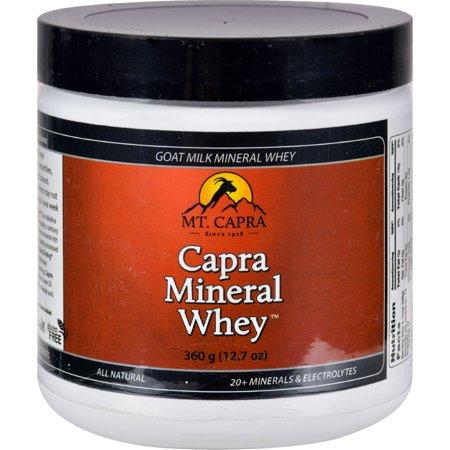 Bernard Jensen Mt. Capra Mineral Whey Powder - 12.7 -