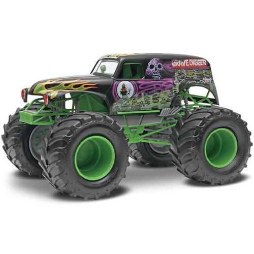 Revell SnapTite Max 1:25 Monster Jam Grave Digger Monster Truck Plastic Model Kit by Revell