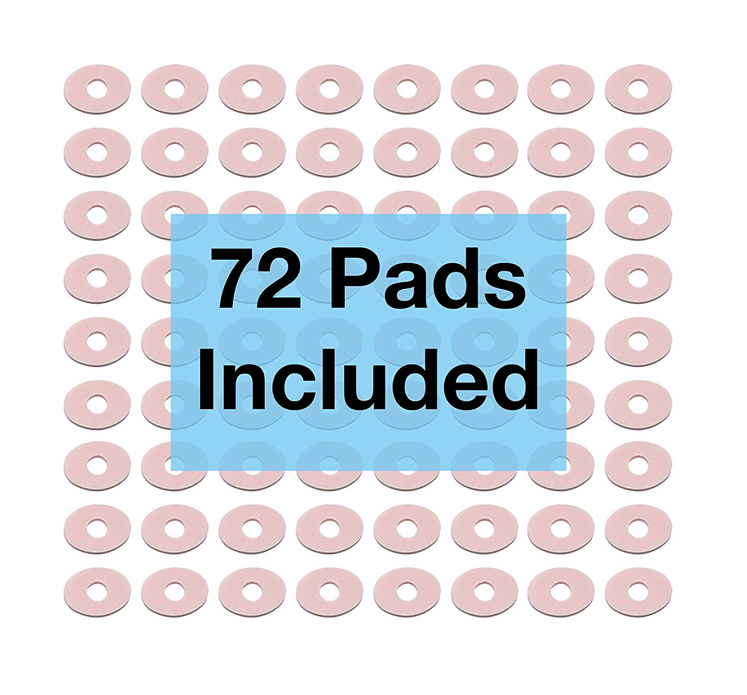 ZenToes Thick Corn Pads Toe Cushions - Hypoallergenic and Waterproof - Multi-Pack